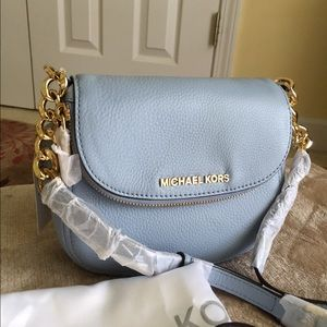 65447a257843 Michael Kors Bags - Authentic MK Bedford Leather Flap Crossbody Bag