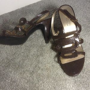Elements by Nina Shoes - Brown sandals