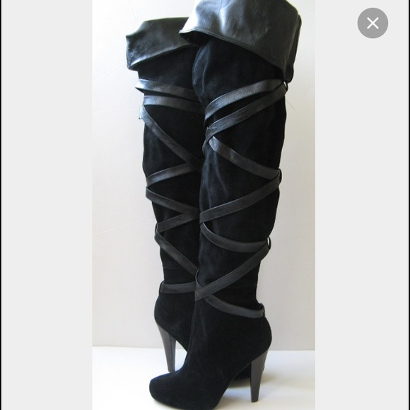63 colin stuart shoes colin stuart black thigh high