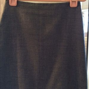 French connection Gray pencil skirt