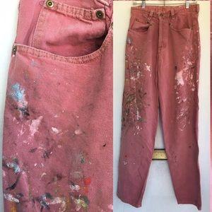 Prepainted Artist Jeans