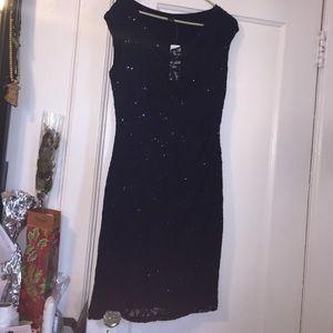 Lauren Ralph Lauren Blue Sequence Dress BNWT