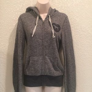 💖VS Love Pink Grey Zip Up Hoodie💖