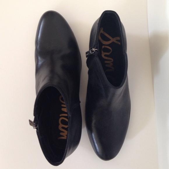 48b3e14f54a767 Sam Edelman black leather