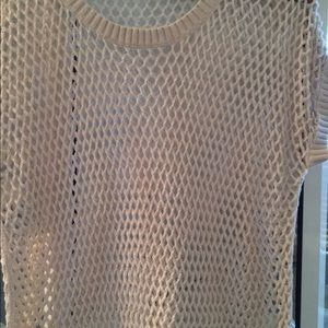 Old navy fish net sweater