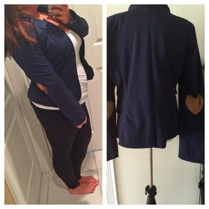 RESERVED Elbow heart blazer