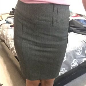 Pencil Skirt from Express. Charcoal Gray