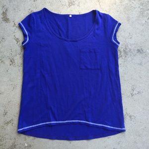 Tops - Sapphire Blue Top