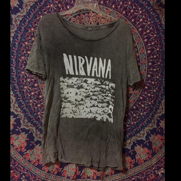 d6ed5216 Brandy Melville Tops - Brandy Melville Nirvana Shirt