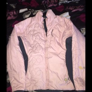 Reversible Mountain Hard Wear jacket pink/grey
