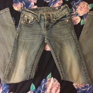 Miss Me Bottoms - Girls miss me jeans (kids)