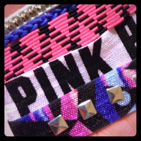 20 Off Pink Victoria S Secret Jewelry Pink Bracelets From Dana S Closet On Poshmark