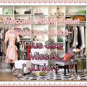 Hi there! Welcome to my closet!