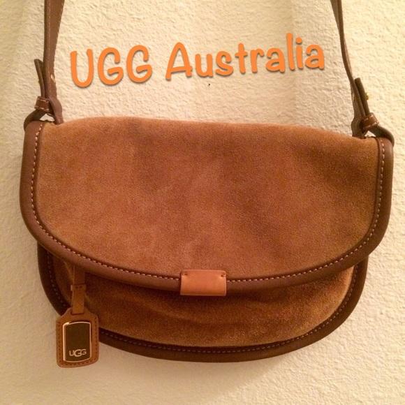 ugg crossbody bag chestnut