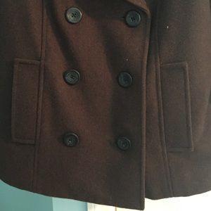 Merona Jackets & Coats - Brown Pea Coat