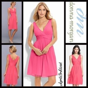 Donna Morgan Dresses & Skirts - ❗️1-HOUR SALE❗️Donna Morgan DRESS Chiffon Party