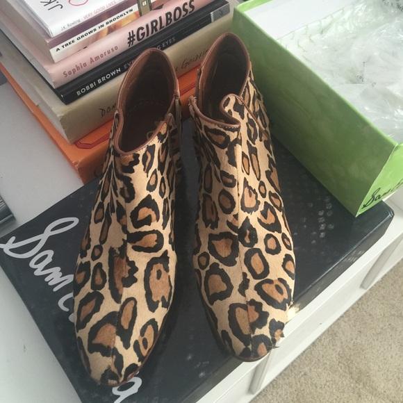 18f9a4b99 Sam Edelman Petty boot leopard