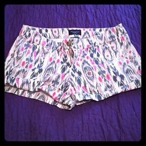 American eagle tribal print shorts