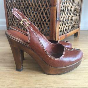 Loeffler Randall Shoes - Loeffler Randall Peep Toe Slingback, size 7