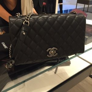 Authentic Chanel City Rock bag
