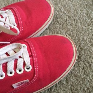 Vans Shoes - Pink Vans shoes