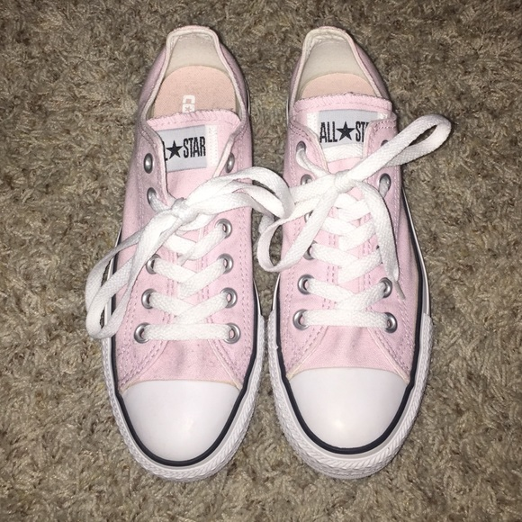 40 converse shoes new light pink converse from