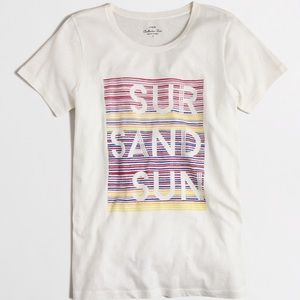 J.crew Sur, Sand and Sun Collector Tee