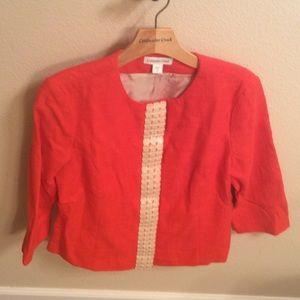 Coldwater Creek Shell Embellished Jacket! 8