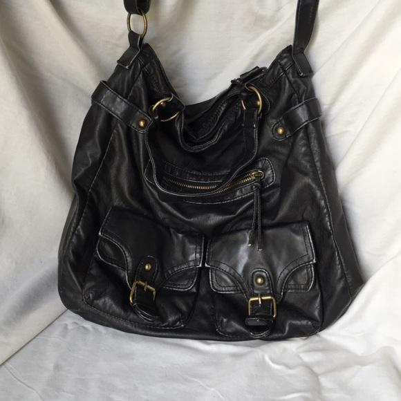 54fff9a781f Mossimo Supply Co. Bags   Mossimo Black Oversized Crossbody Bag ...