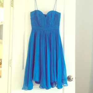 Foley & Corinna bright blue party dress