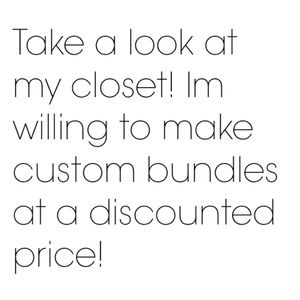 Other - Create your own custom bundle at a discount!