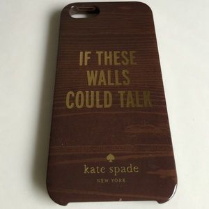 "kate spade iPhone 5s - ""If these walls could talk"""