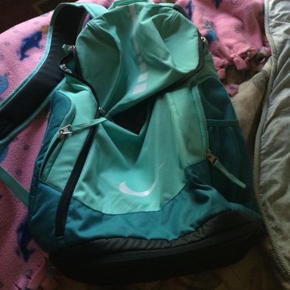 teal nike elite backpack