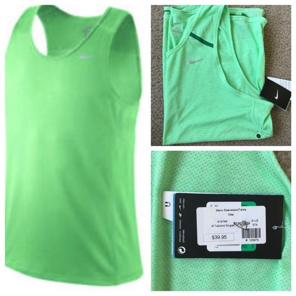 998106e68d6a40 Men s Nike sleeveless dri-fit running shirt NWT
