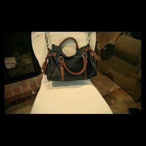 Handbags - Soft black leather hobo