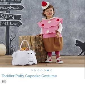 Pottery Barn 12-24 Month Cupcake Costume