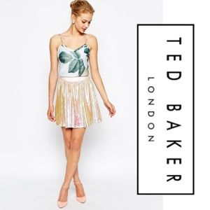 Ted Baker sequin skirt