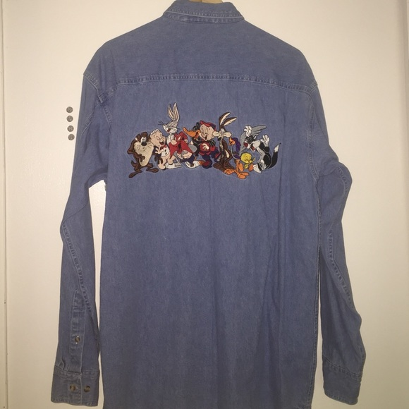 Congratulate, what vintage looney tunes denim shirts agree