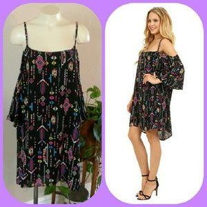 Gabriella Rocha Kimmy Open Shoulder Dress