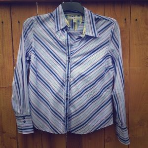 Tommy Hilfiger Tops - ⬇️ Tommy Hilfiger Striped Blouse