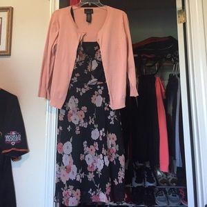 Scarlett Dress and cardigan set