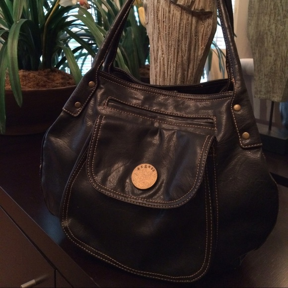 Black Axcess Hobo Bag