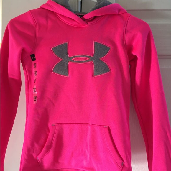 65% off Under Armour Tops - NWT Pink XS Girls Under Armour ...