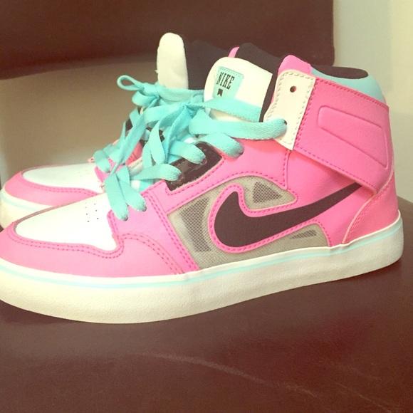 Nike Shoes | Pink Nike High Tops 55