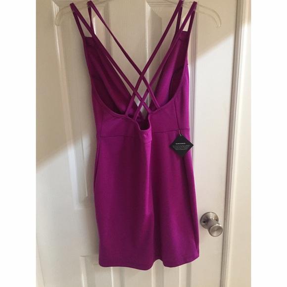 49% off Nasty Gal Dresses & Skirts - Deep V Dress in ...