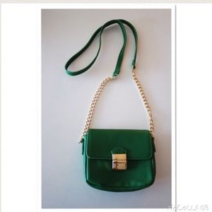Handbags - Green Cross Body