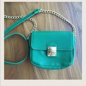 Handbags - Green Cross Body