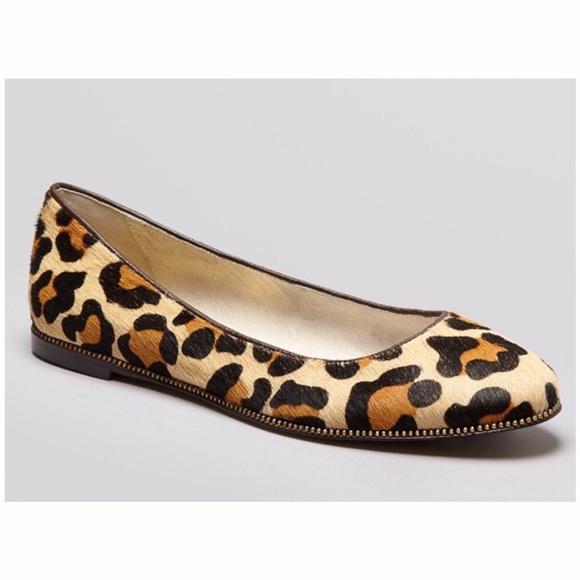 5d444c05abcd KORS Michael Kors Shoes - Michael KORS Leopard Print Flats