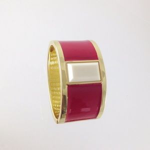 Jewelry - Red gold plated hinge bracelet