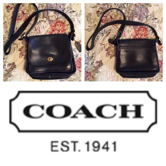 Coach Handbags - ONE DAY SALE! Black Coach Rambler s Legacy bag da2b68936a2da